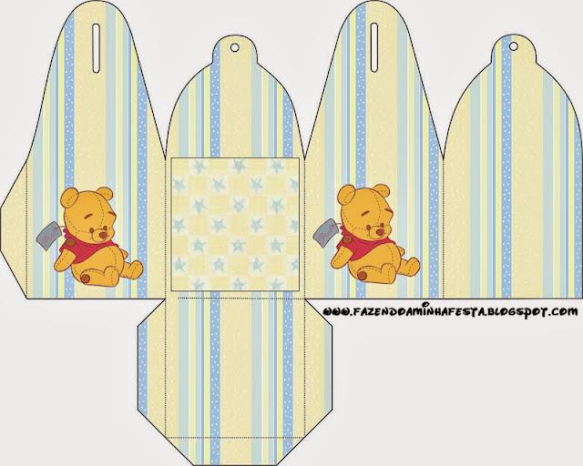 Winnie the Pool Baby: Free Printable Boxes.