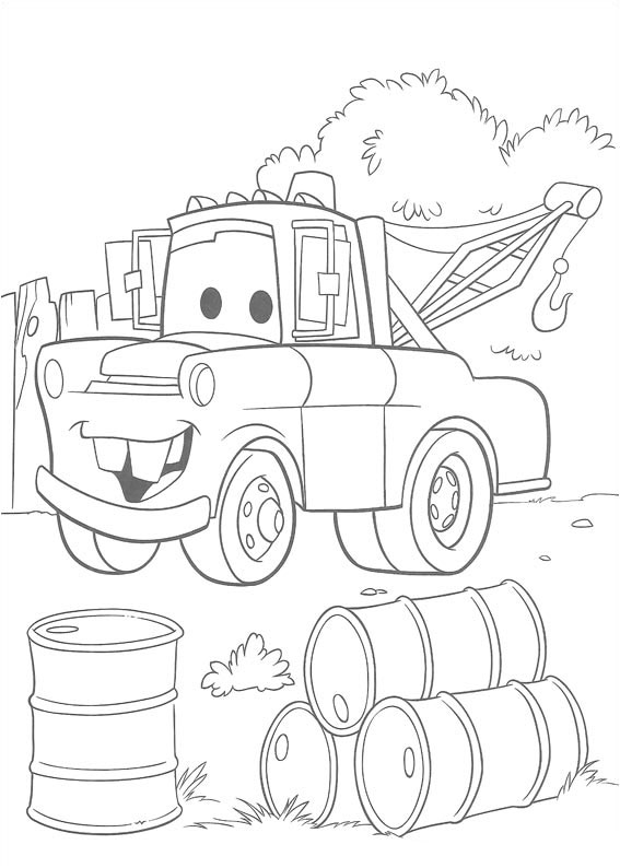 cars toons coloring pages - photo#14