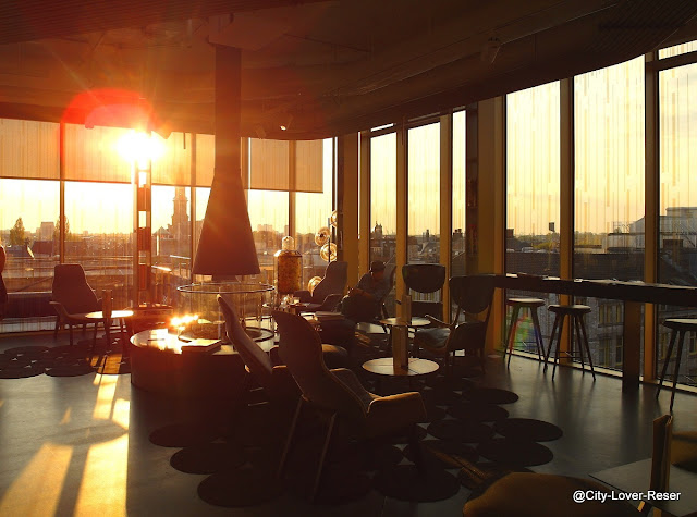 sunset at W Lounge - Amsterdam