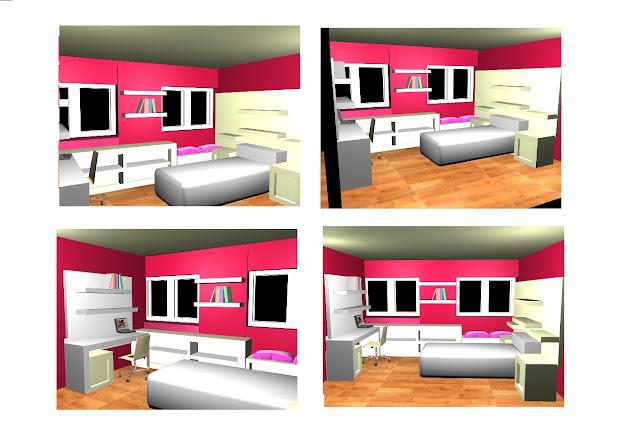 dormitorio joven blanco www.lolatorgadecoracion.es