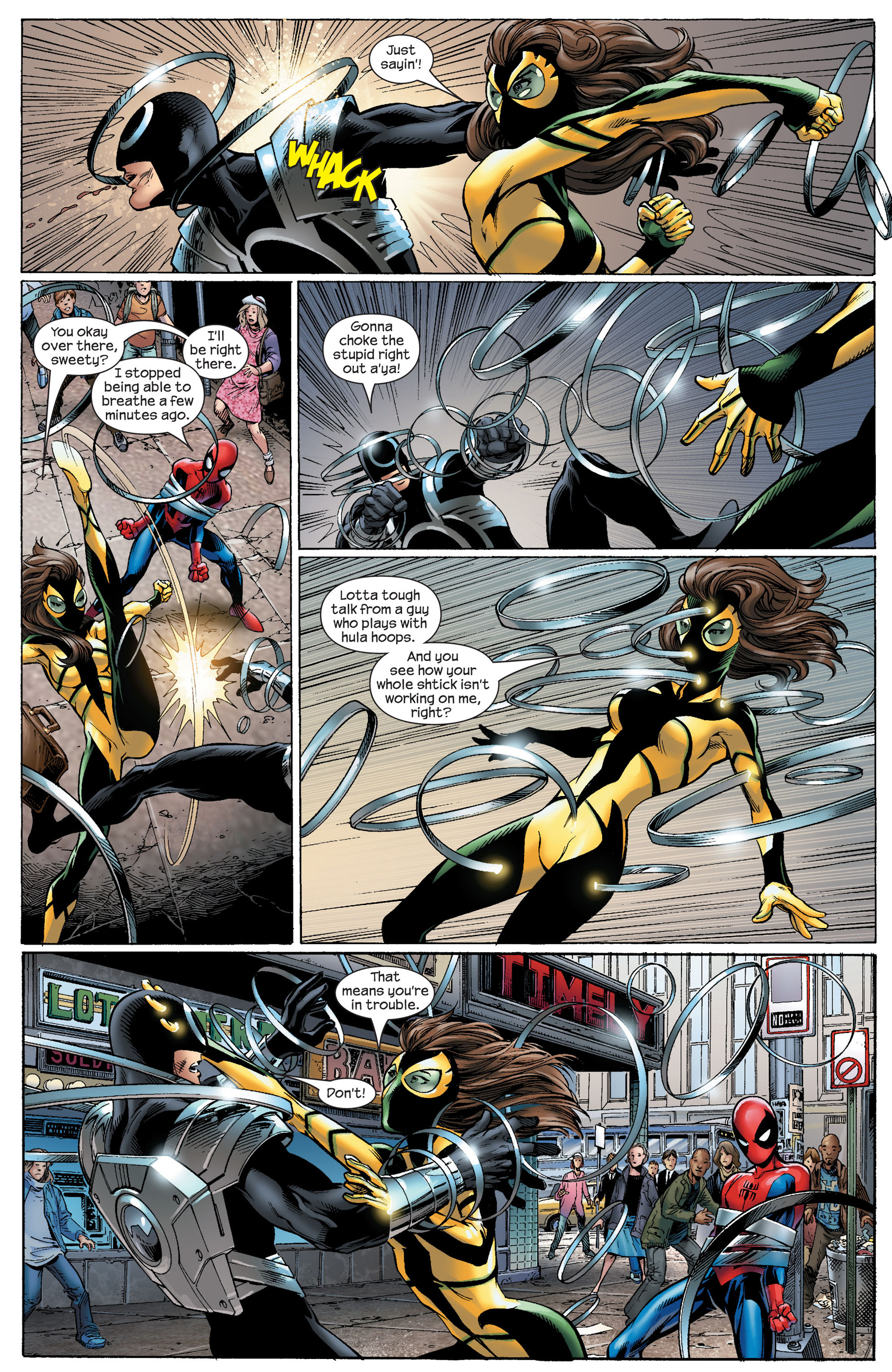 Read online Ultimate Spider-Man (2000) comic -  Issue #91 - 5