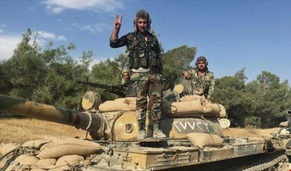 Ejército sirio recupera nuevos territorios ocupados por los terroristas