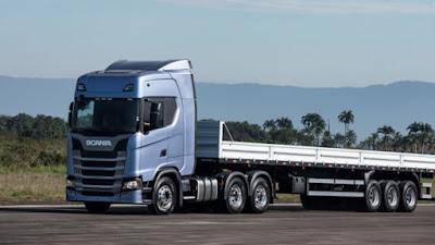 Caminhão Scania 540 cavalos será lançado