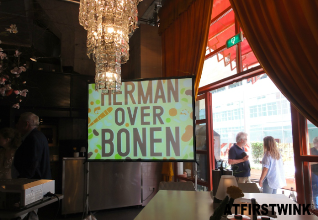 Herman den Blijker book launch: Herman over bonen