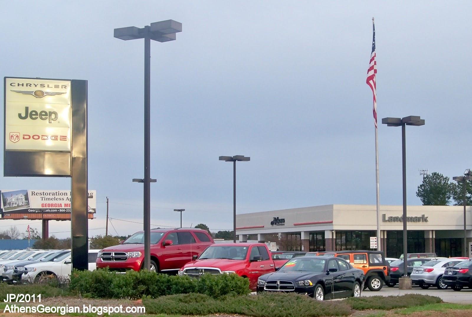 Dealerships Open On Sunday >> ATHENS GEORGIA Clarke UGA University GA. Hospital Restaurant Attorney Bank Fire Dept.Store ...