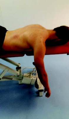Prone-Retraction Drill for Lower Trapezius 2 - El Paso Chiropractor