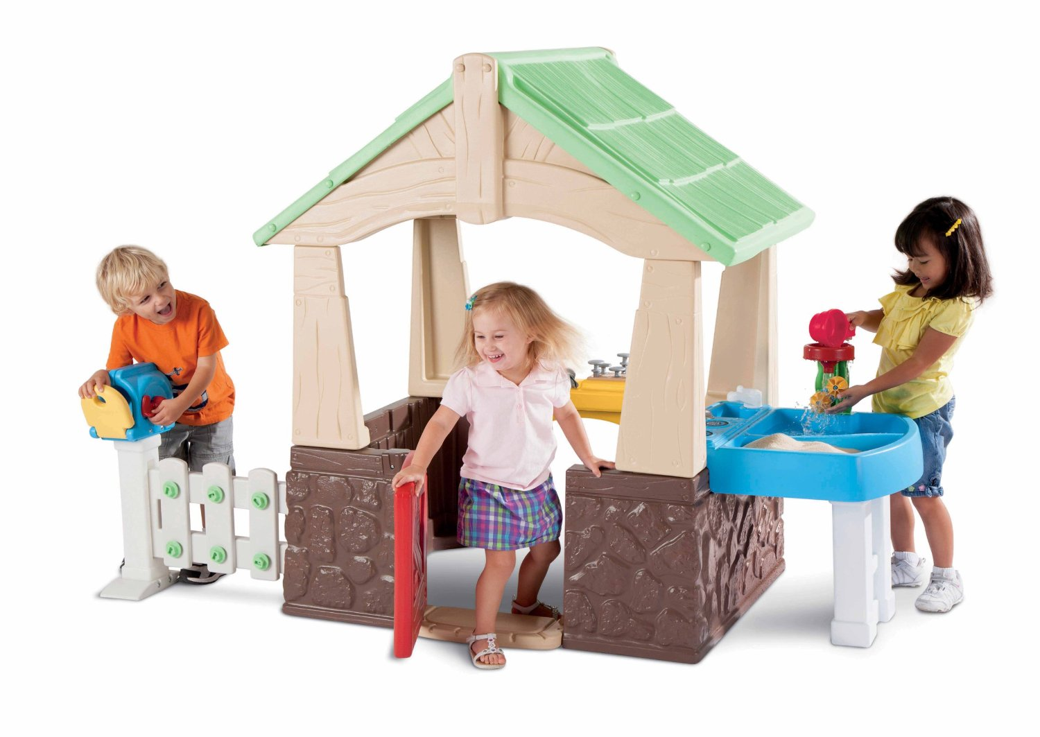Plastic Indoor Outdoor Playsets Amp Playhouses For Toddlers