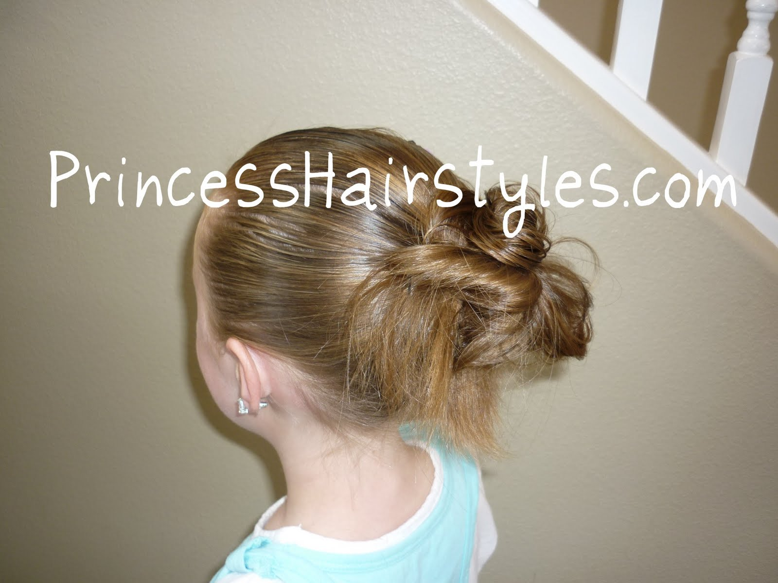 How To Make A Messy Bun Hairstyles For Girls Princess Hairstyles