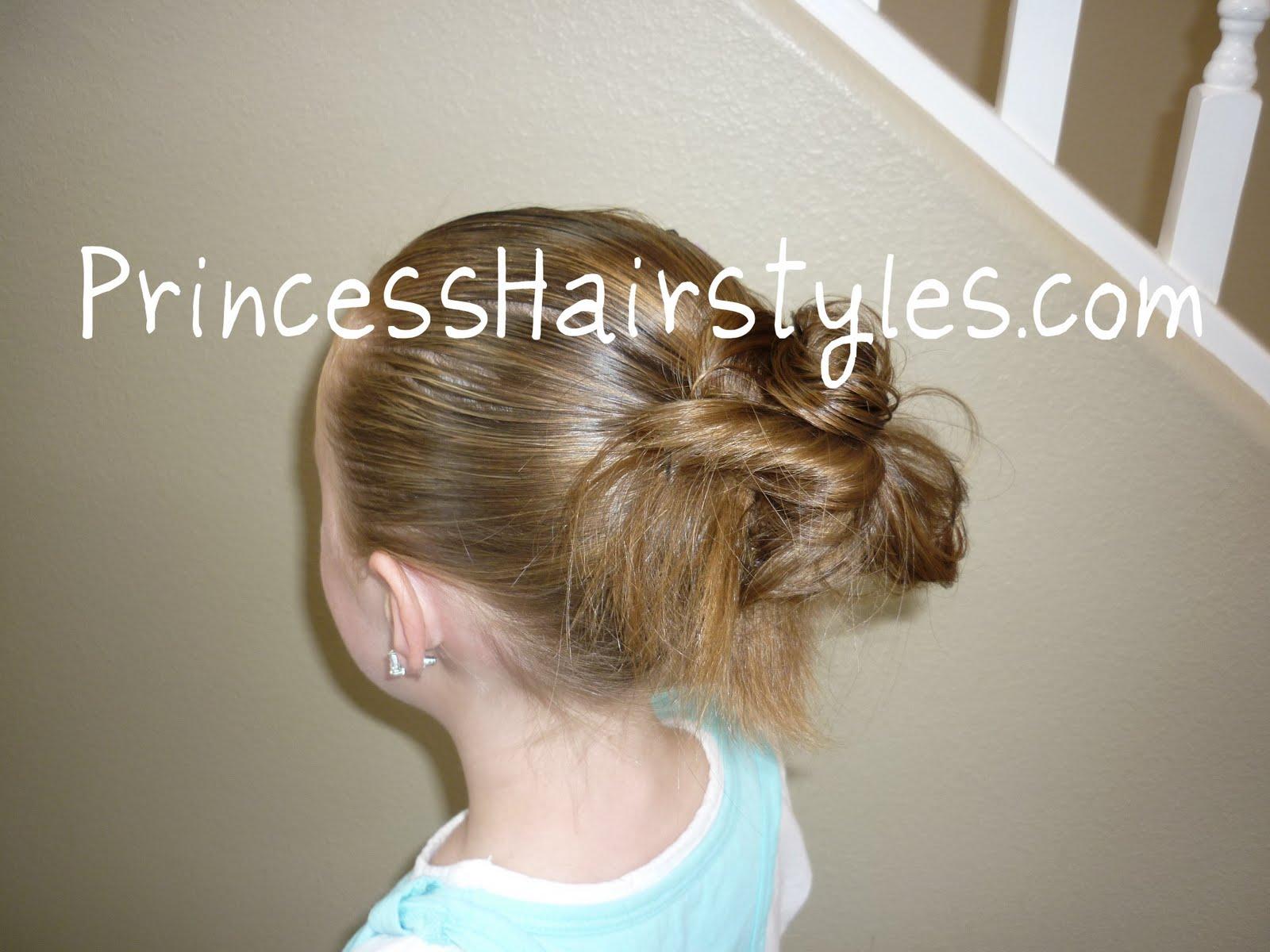 Peachy How To Make A Messy Bun Hairstyles For Girls Princess Hairstyles Short Hairstyles Gunalazisus