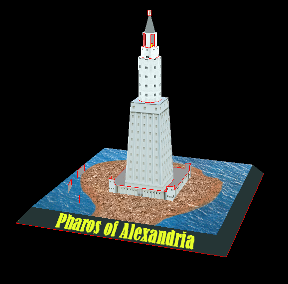 Seven Wonders of the Ancient World Pt.7 – Pharos of Alexandria