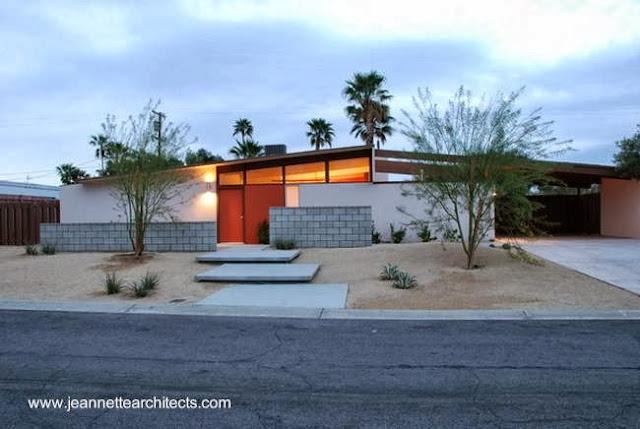 Residencia Mid Century rehabilitada en Palm Springs California