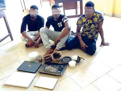 yahoo boys arrested ibadan