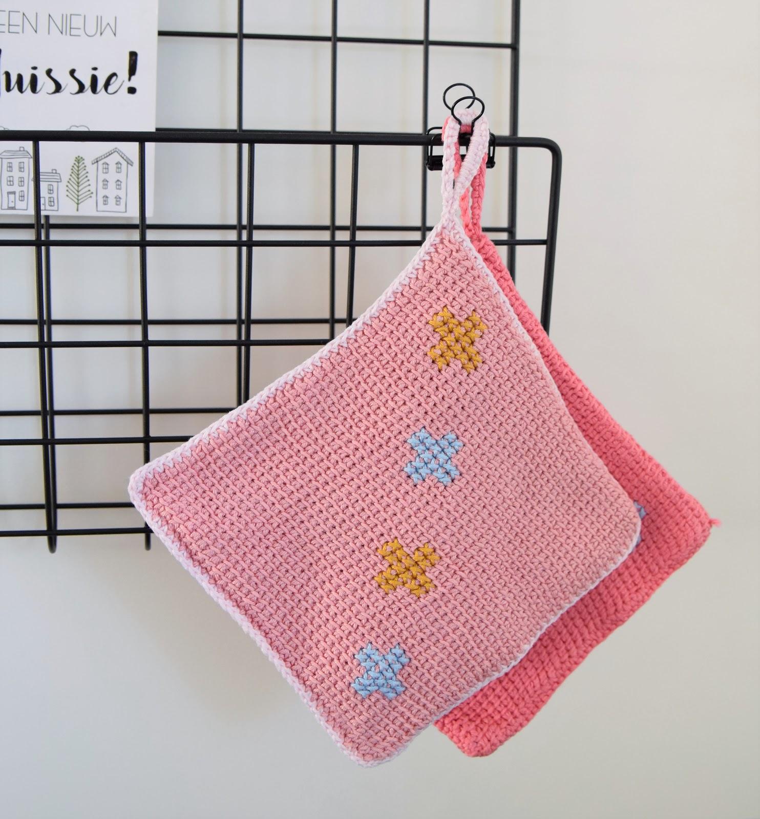 Madebyleen Blog Over Haken Crochet Blog Tunisch Haakpatroon