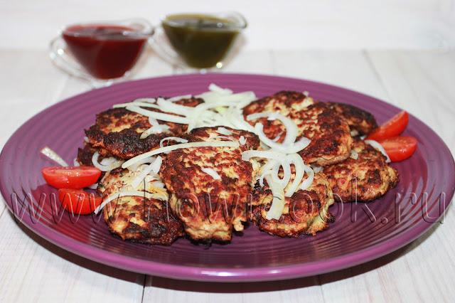 рецепт люля-кебаба из индейки на сковороде