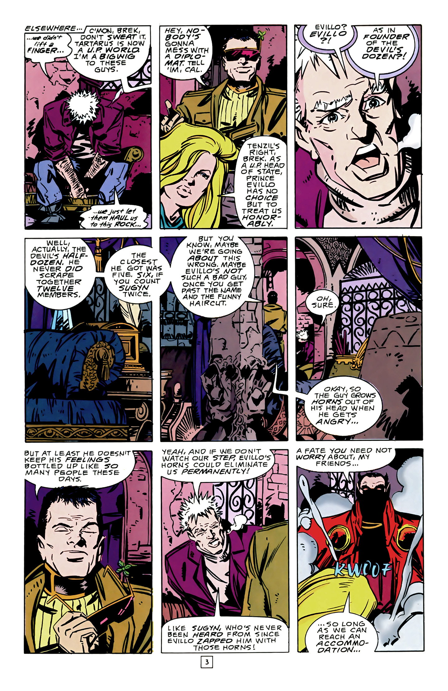 Legion of Super-Heroes (1989) 14 Page 3
