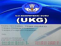 Soal Latihan UKG SD Kelas Atas dan Bawah Tahun 2016