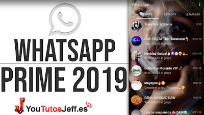 Descargar Whatsapp Prime Ultima Version 2019
