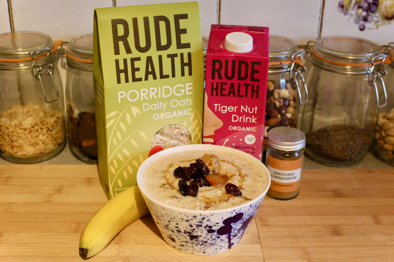 Rude Health Dairy Free Horchata Porridge Recipe