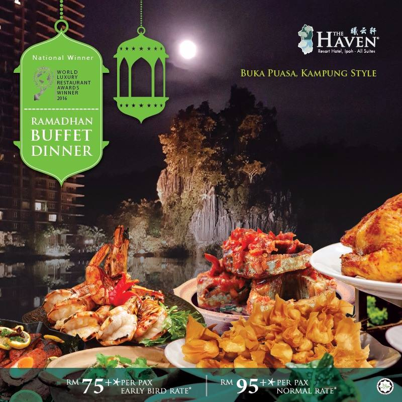 buffet ramadhan the haven resort hotel ipoh