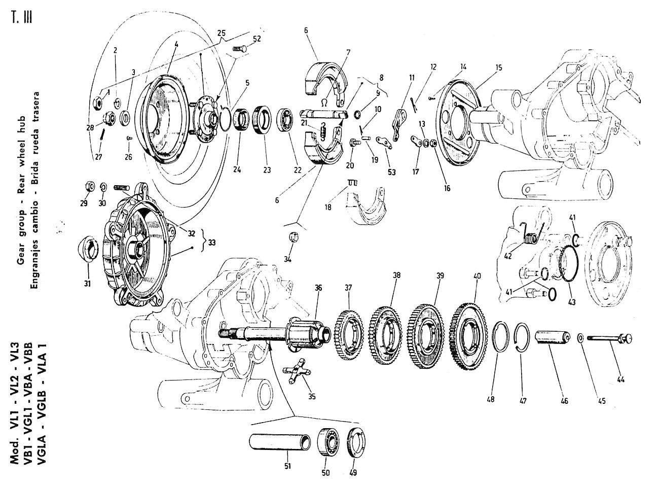 2 2l chevy Motordiagramm