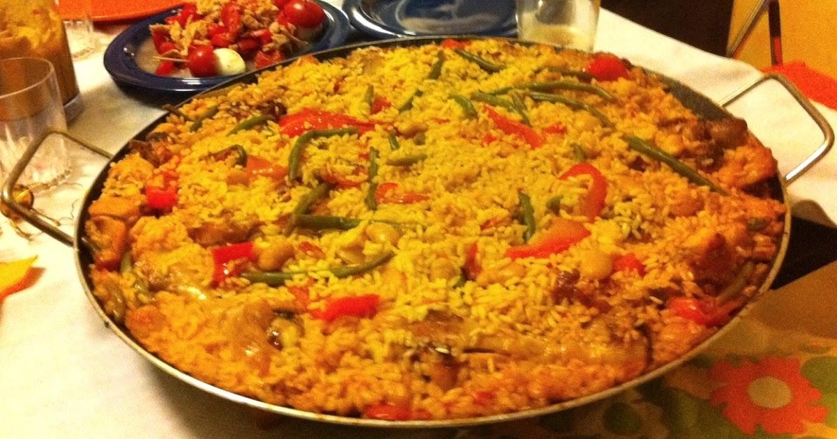 Cucinare assaporare bere e dintorni paella valenciana for Cucinare fagiolini