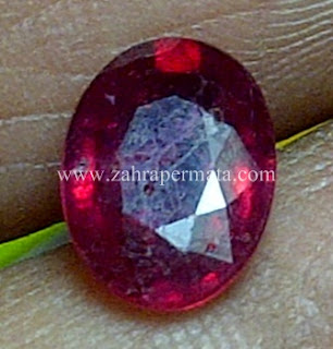 Batu Permata Ruby Pigeon Blood - ZP 592