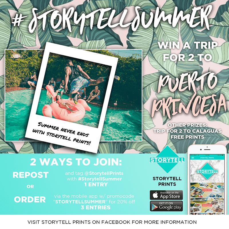 Storytell Prints Announces #StorytellSummer Campaign