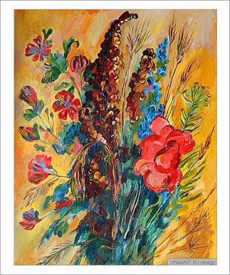купить картину с цветами, цветочный натюрморт