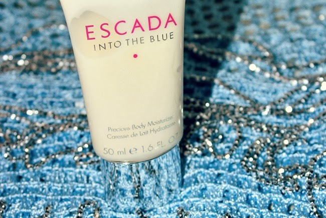 Escada Into The Blue body lotion