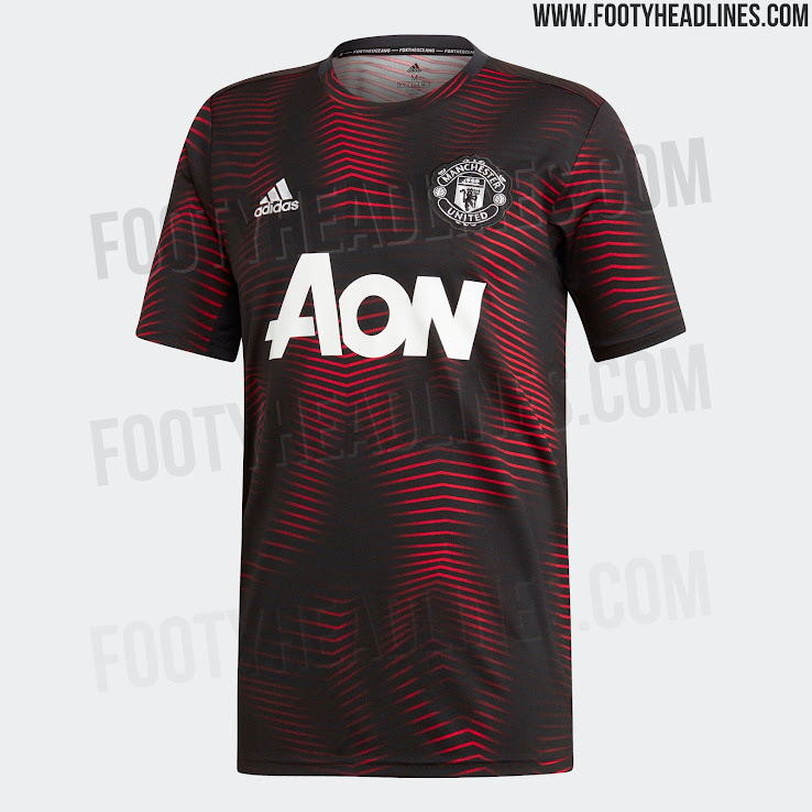 5a6f0ff51 Stunning Manchester United 2019 Pre-Match Shirt Released - Footy ...