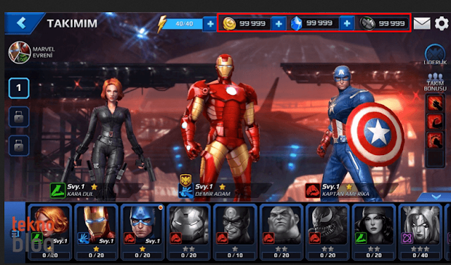 Fight Hack  Marvel Future Fight Cheats - 2016 Online