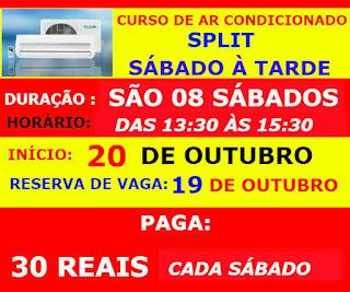 CURSO DE AR CONDICIONADO EM FORTALEZA