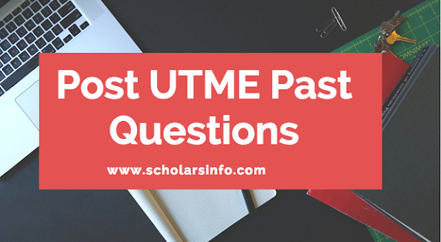 UNICAL Post UTME Past Exams Questions And Answers | Download Free University of Calabar Aptitude Test Past Questions and Answers - Cut off Mark & Post UME Screening Date