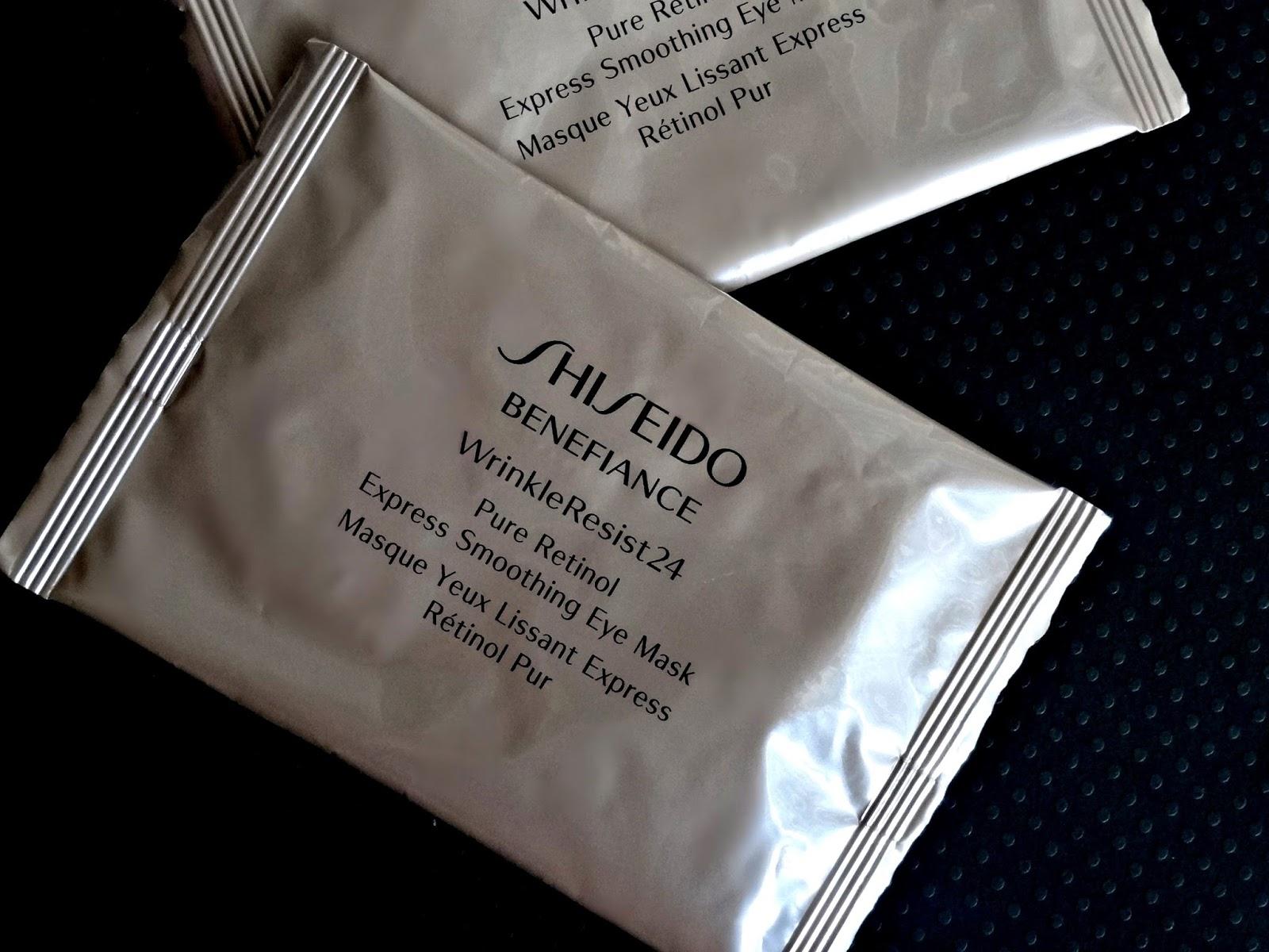 makeup beauty and more shiseido benefiance wrinkle. Black Bedroom Furniture Sets. Home Design Ideas