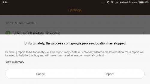 3 Cara mengatasi Sayangnya, com.google.process.location telah berhenti di Android