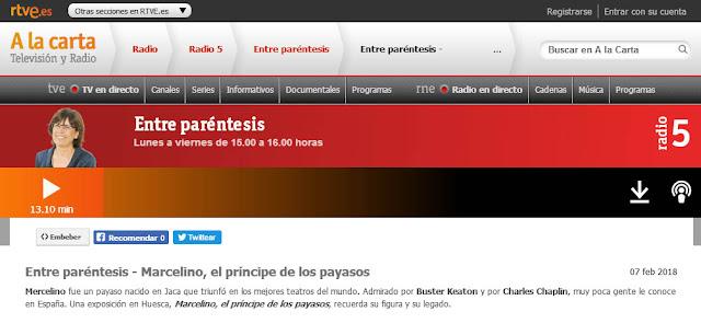 http://www.rtve.es/alacarta/audios/entre-parentesis/entre-parentesis-marcelino-principe-payasos/4466765/