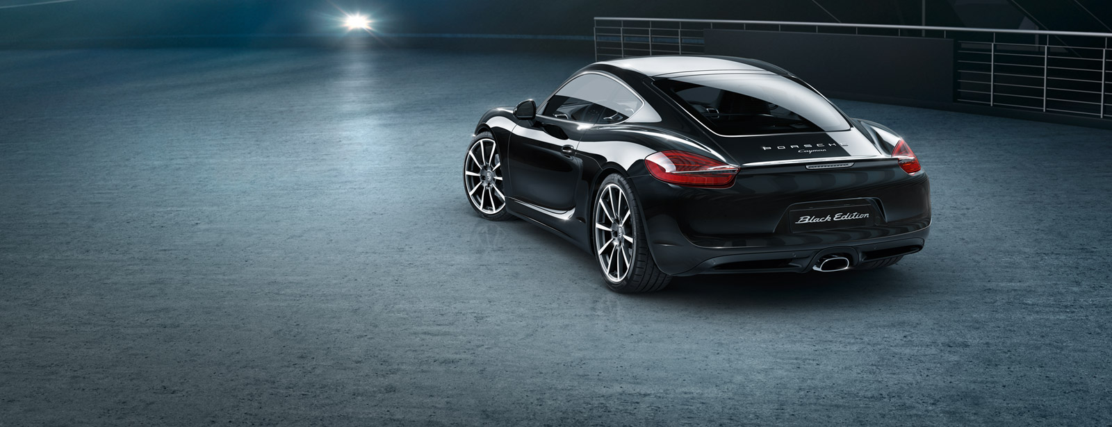 Porsche Cayman Black Edition