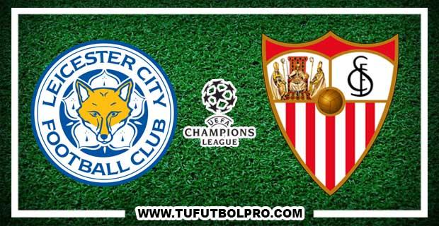 Ver Leicester City vs Sevilla EN VIVO Por Internet Hoy 14 de Marzo 2017