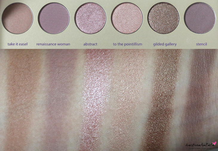 Tarte Tarteist Paint Palette Collector's Set Swatches Row 2