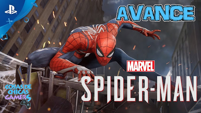 Avance Marvels Spiderman PS4