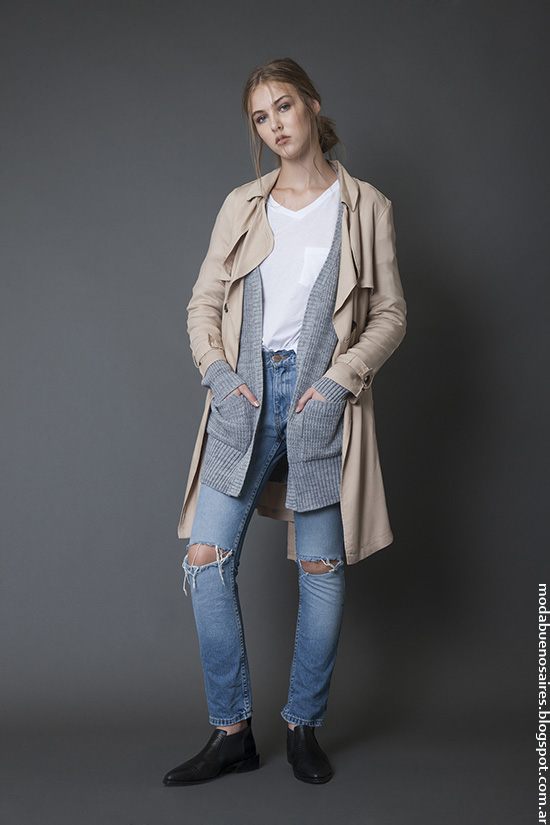 Moda invierno 2016 ropa de mujer. Moda invierno 2016 Bled.