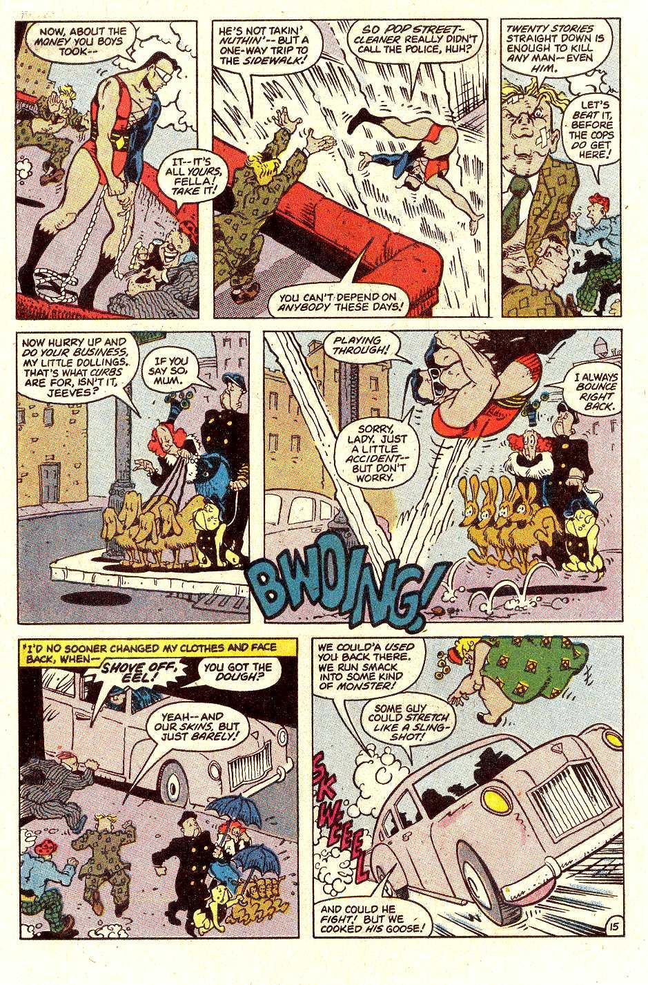 Read online Secret Origins (1986) comic -  Issue #30 - 36