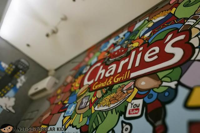 Charlie's Grind & Grill Artwork