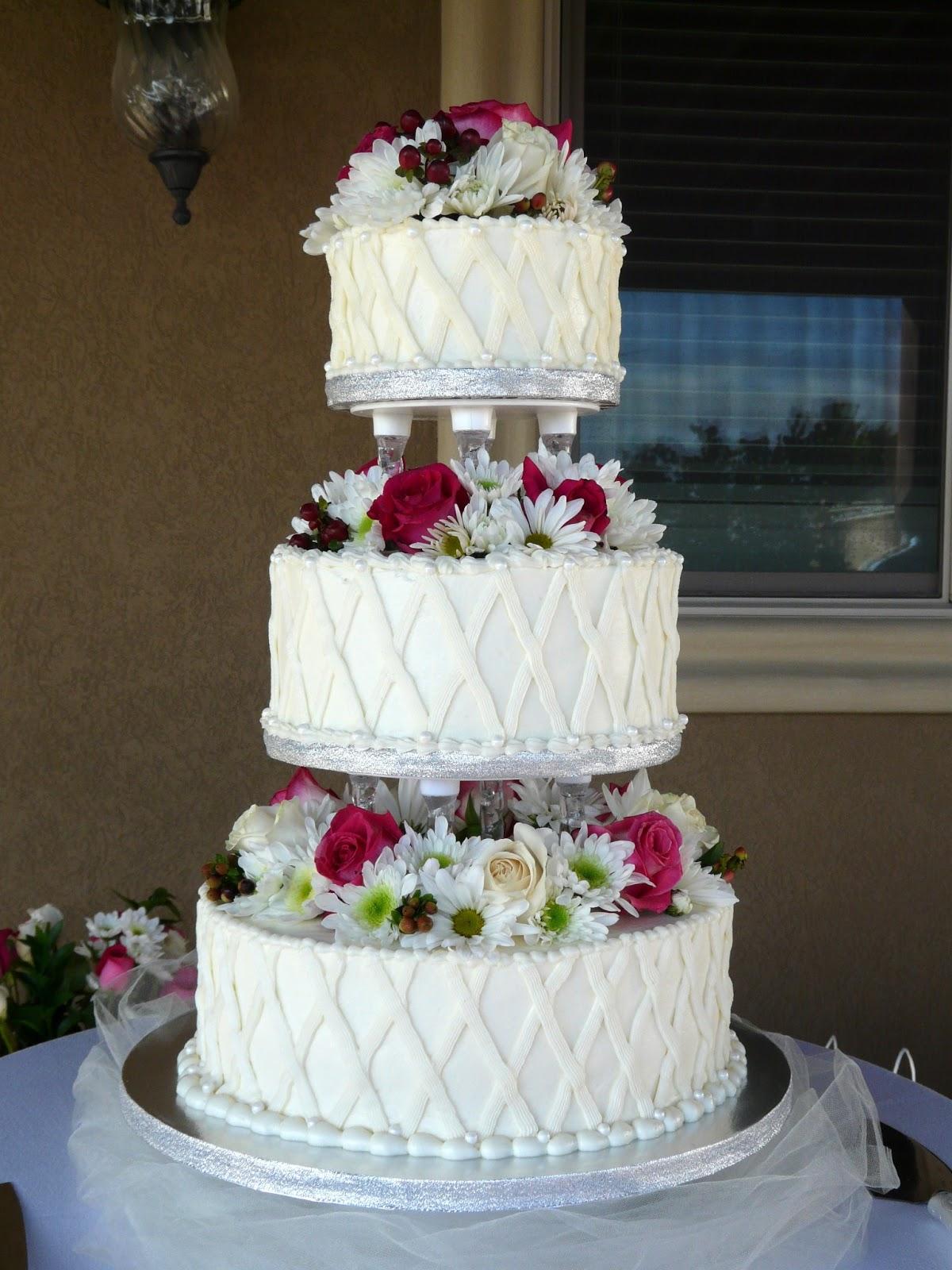 The Wedding Cake Project Garden Lattice