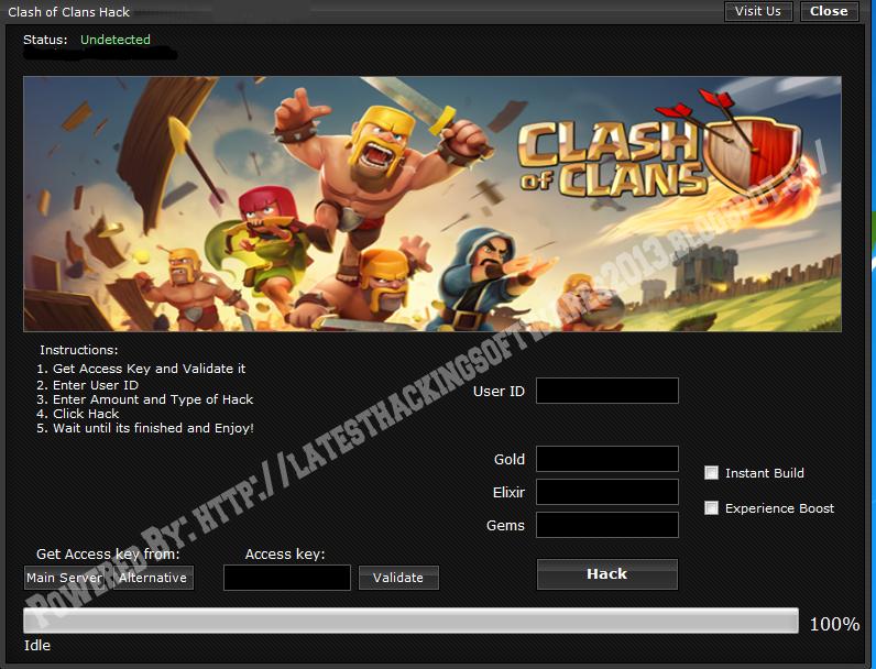 clash of clans hack tool 2014