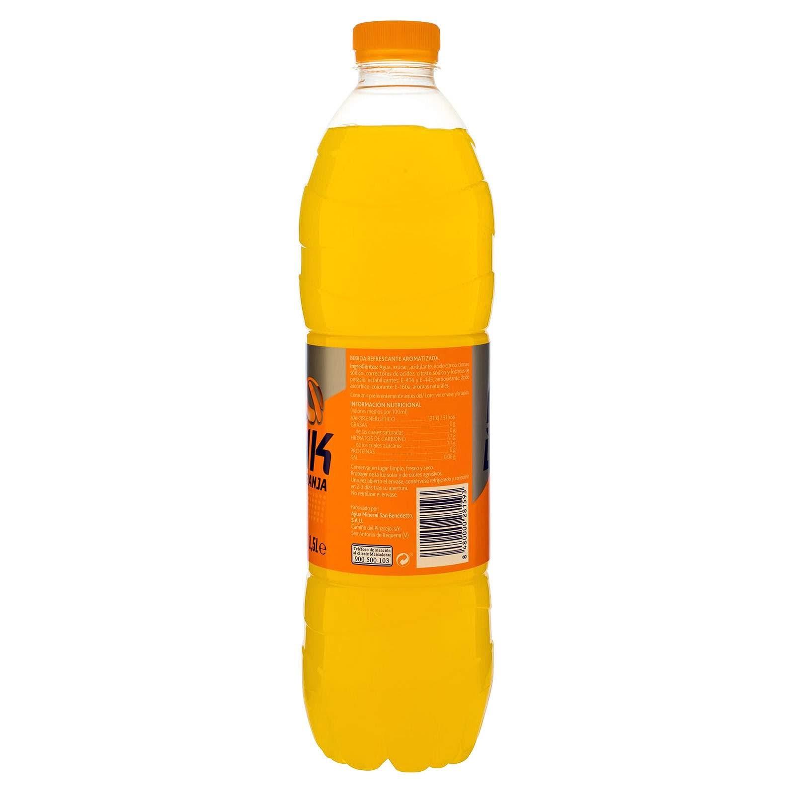 Bebida isotónica Iso Drink naranja Hacendado