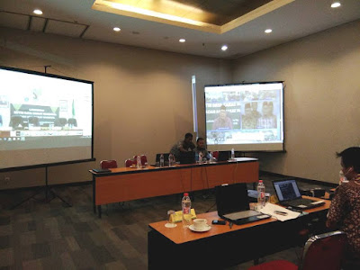 Sukses Video Conference BAZNAS