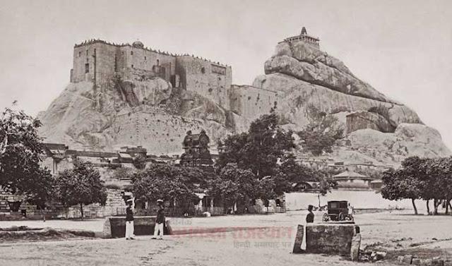 कैमरे ने वो देखा जो किसी ने नहीं देखा, ucchi pillayar temple 1869