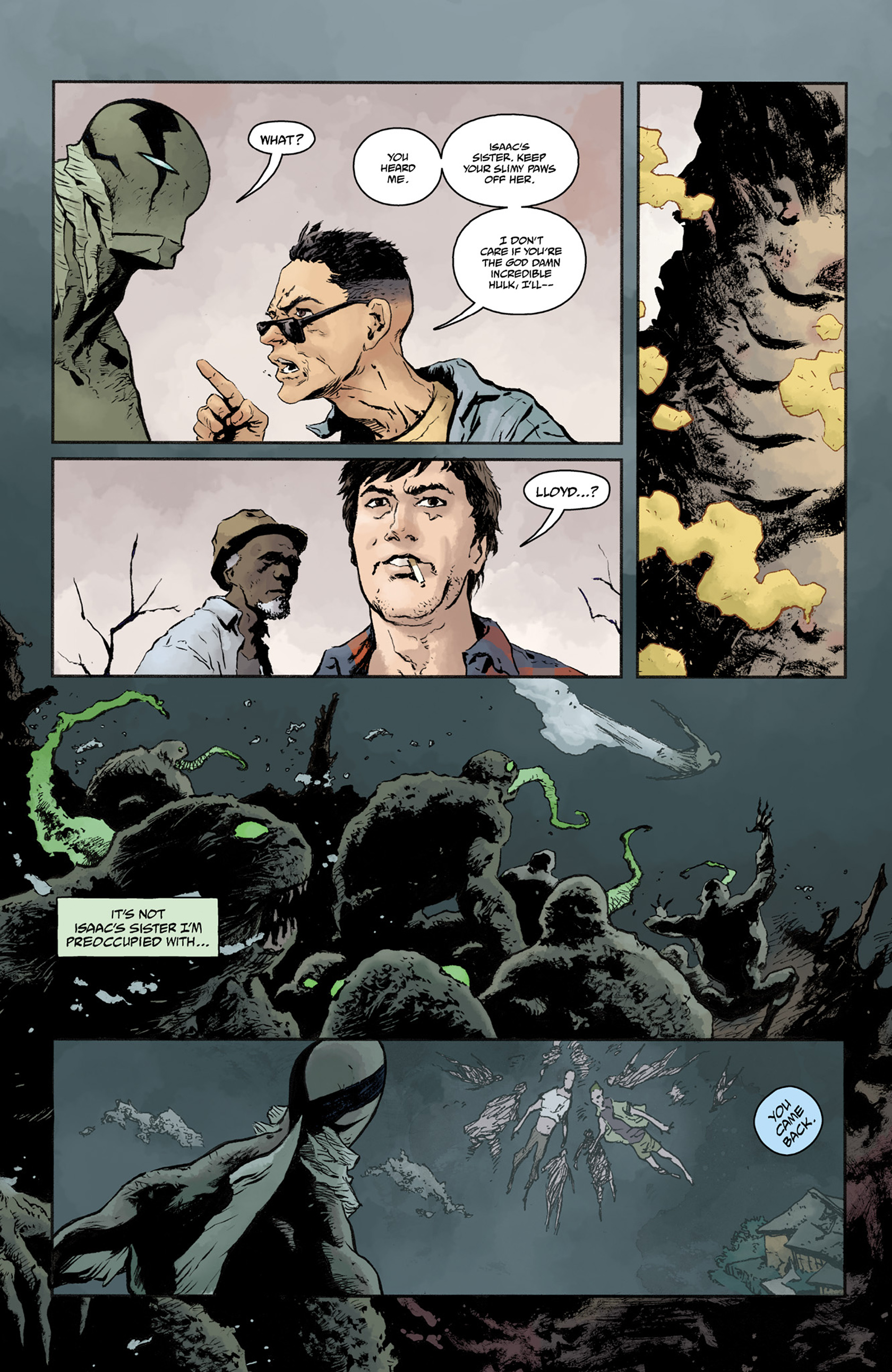 Read online Abe Sapien comic -  Issue #25 - 20