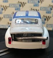 Escape del Fiat Abarth 1000 Nürburgring Reprotec